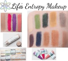 Life's Entropy Makeup | Phyrra - Beauty for the Bold