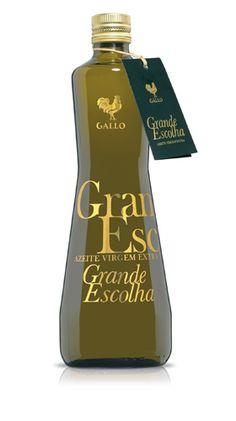 Grande Escolha :: Virgem Extra Premium :: Azeites :: Gallo.   Love the bottle shape. PD