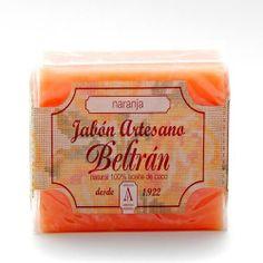 Jabón de Naranja - Jabones Beltrán - 100gr, 2,50€ en Viva Nutrición - Estimulante y tonificante para pieles normales.