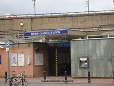 London Tube Ruislip Gardens Station
