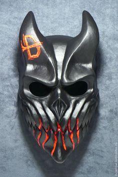 Airsoft, Oni Maske, Useful 3d Prints, Cosplay Helmet, Tactical Helmet, Monster Concept Art, Ninja Art, Cool Masks, Leather Mask