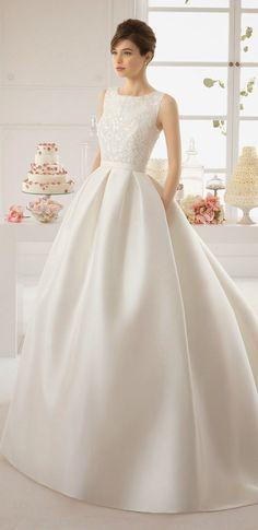 Aire Barcelona 2015 Bridal Dress
