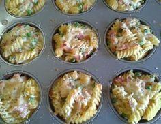 Nudelmuffins - Rezept - ichkoche.at: