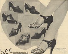 Shoes from 1937, Finnish design