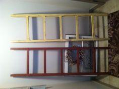 Blanket decor ladders
