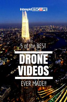 5 of the BEST drone videos ever made - Intrepid Escape #Video