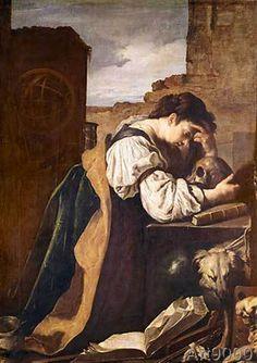 Domenico Feti - Melancholy