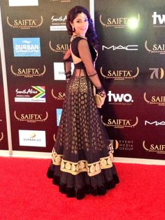 Designer Pernia Qureshi at SAIFTA Awards 2013 #Bollywood #Fashion #Style