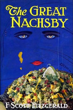 Famous Book Covers, But With Nachos