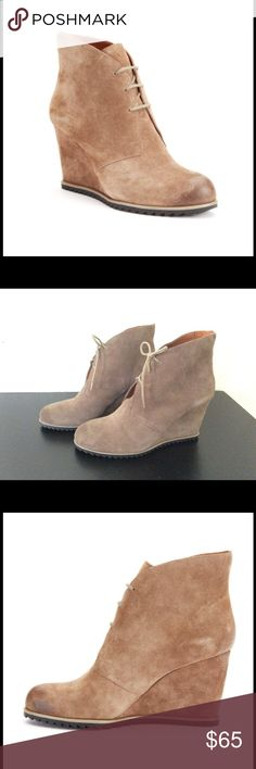 Kenneth Cole suede wedge ankle boot Bootie. New never worn just no box Kenneth Cole Shoes Ankle Boots & Booties