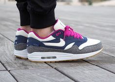 Nike ID Air Max 1 Pendleton (by h4ppy_violence) Create your own Nike US / Nike UK / Nike FR / Nike DE