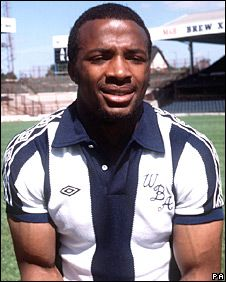 Cyrille Regis - West Bromwich Albion, Coventry City, Aston Villa, Wolverhampton Wanderers, Wycombe Wanderers, Chester City, England.