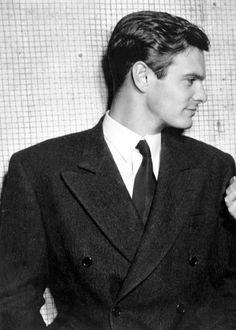 louis jourdan   Louis Jourdan, 1948   When Stars Were Stars
