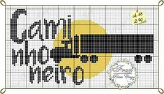 Cross Stitch, Ale, Logos, Crochet, Small Cross Stitch, Truck Drivers, Cross Stitch Letters, Transportation, Paintings