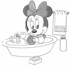 Color Sheets, Gummy Bears, Baby Shark, Baby Disney, Minnie Mouse, Disney Characters, Fictional Characters, Little Girls, Bath