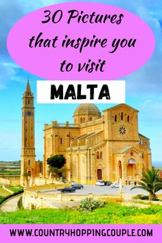 Malta is a tiny island nation in the Meditteranean Sea. There are so many places to visit in Malta, considering how small the island is. Soak into the historic monuments, free standing neolithic temples, crystal clear beaches and azure coves, colourful fishing villages, amazing cities, beautiful churches and incredible limestone architecture. #Malta #MaltaTravel #MaltaPhotography Europe Travel Guide, Travel Guides, Backpacking Europe, Travel Abroad, Italy Travel, Where Is Malta, Places To Travel, Travel Destinations, Island Nations