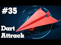 How to make a paper airplane that Flies - Easy Origami paper planes Easy Origami For Kids, Origami Easy, Origami Paper Plane, Paper Rockets, Make A Paper Airplane, Paper Crafts, Diy Crafts, Paper Models, How To Make Paper