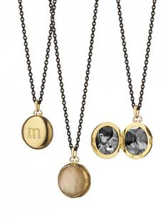 love these simple lockets