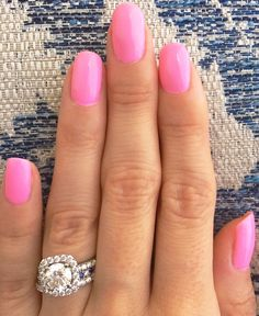 DND gel DUO polish - Victorian Blush - DND 552 - love this bright pink gel color for the spring