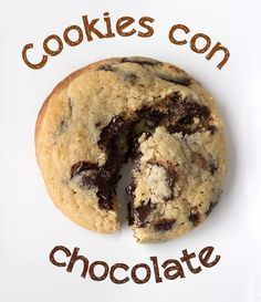 cookies con chocolate Más