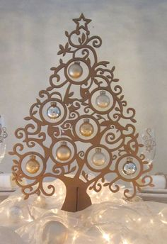This is beautiful! Christmas Wood, Christmas Holidays, Christmas Crafts, Christmas Ornaments, Laser Cutter Ideas, Laser Cutter Projects, Laser Art, Laser Cut Wood, Laser Cutting
