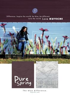 Advertentie voorjaarscollectie Kuyichi
