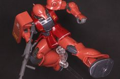 [FULL DETAILED REVIEW] HG GTO 1/144 MS-05S CHAR AZNABLE's ZAKU I: Many Big Size Images http://www.gunjap.net/site/?p=316886