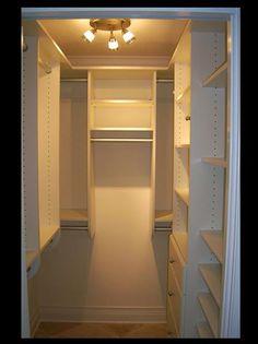 Small Closets Tips and Tricks   Small closets, Master closet and ...