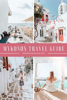 A complete travel guide to Mykonos Island with tips and advice on the best restaurants, bars, hotels, infinity pools and attractions as well as the most instagrammable spots. Find insider tips for Mykonos, tips on the best food, the best beaches on Mykonos and how to plan a road trip. Kykladen Island Hopping Greece Instagram