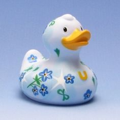 Deluxe Supreme Forget-Me-Not Duck