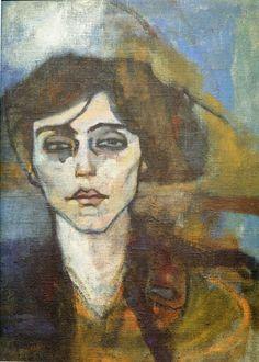 Amedeo Modigliani |   Maud Abrantès [verso] 1908