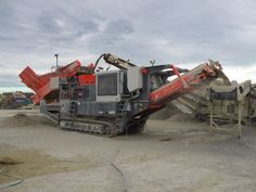 #Q&M August's machinery profile of the Sandvik QH331 hydrocone mobile crusher
