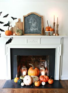 It's a BATulous Halloween Home Tour! See how to decorate for Halloween inexpensively and creatively, while making your home look spooktacular for Hallowen. Farmhouse Halloween, Halloween Home Decor, Fall Home Decor, Holidays Halloween, Halloween Crafts, Vintage Halloween, Halloween Ideas, Country Halloween, Cute Halloween Decorations