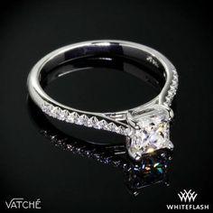 "Platinum Vatche ""Aurora"" Diamond Engagement Ring for Princess. Princess Cut Diamonds, Diamond Engagement Rings, Aurora, Jewerly, Wedding Stuff, Sleeping Beauty, Marriage, Beautiful, Life"