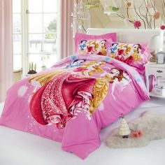 Beautiful Disney Princesses Pink Disney Bedding Disney Bedding, Disney Princesses, Bedding Sets, Comforters, Blanket, Pink, Beautiful, Home, Creature Comforts