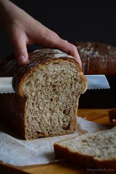 Barley Malt and Vanilla Bread / Pane con Malto d'Orzo e Vaniglia