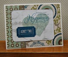 wedding card by Lynn Darda using CTMH Avonlea