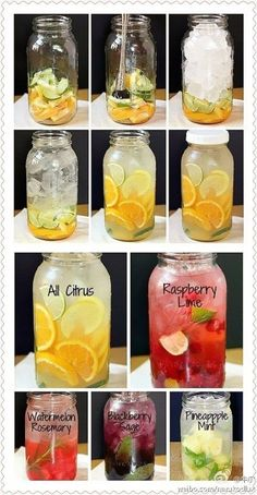 Cool summer wine Citrus Water limes oranges lemons one each cut into thin slices Into the pitcher stir with a wooden spoon a little juice but not minced Fill ice pour in. Healthy Water, Healthy Detox, Healthy Smoothies, Healthy Drinks, Healthy Snacks, Easy Detox, Smoothie Detox, Diet Detox, Detox Soup