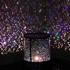 Amazon.com: Constellation Projector Solar System Galaxy Light Projection LED Star Planetarium Night Sky Constellations Projection w/ USB Power Cord (Black USB): Baby        Affiliate Link