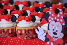 Amart Palma: Mesa dulce de Minnie Mouse para el bautizo de Nuria