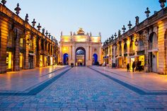 Place Stanislas, Place de la Carrière and Place d'Alliance in Nancy (1000 Places, UNESCO) - Meurthe-et-Moselle, Lorraine, France
