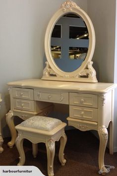 French style dressing table set | Trade Me