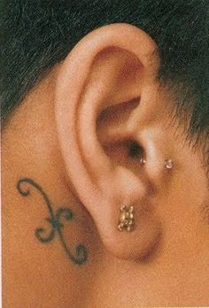 Getting tatted behind my ear soon <3