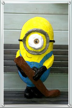 Minion van papiermache (sint surprise)
