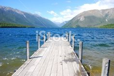 Lake Rotoiti, Nelson Lakes National Park, NZ Royalty Free Stock Photo Nelson New Zealand, Deep Photos, Image Now, Nature Photos, Waterfall, National Parks, Royalty Free Stock Photos, Landscape, Lakes