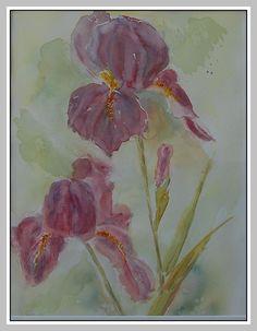 Les iris d'Odette