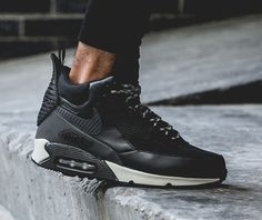 """Nike Air Max 90 Sneakerboot – """"Black Reflective"""" 