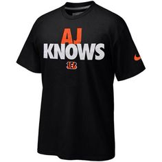 AJ Knows Nike t-shirt
