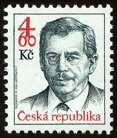 Václav Havel (1936-2011), president Stamp Collecting, Czech Republic, Postage Stamps, Presidents, European Countries, Collection, Art, Seals, Palm Plants
