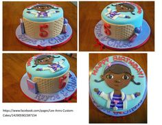 Doc McStuffins cake idea